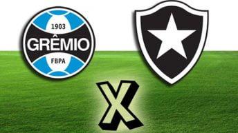 Jogo Grêmio x Botafogo Ao Vivo – Campeonato Brasileiro 2016