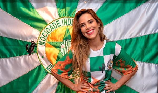 Wanessa Camargo é Musa da Mocidade Independente no Carnaval 2017
